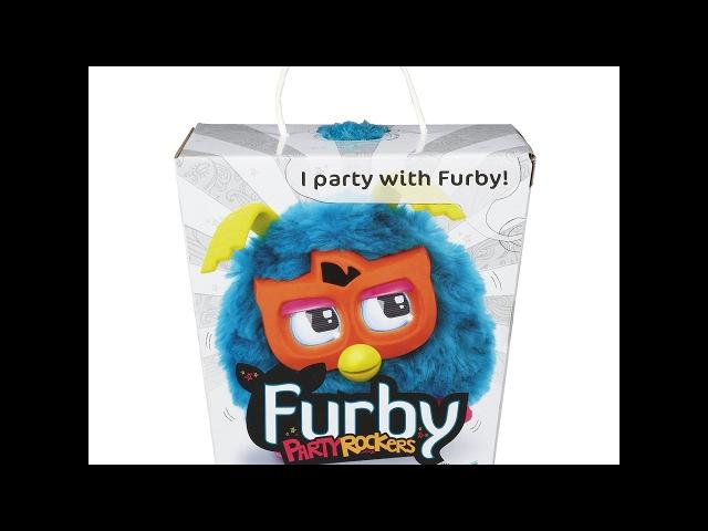 Furby Party Rockers — «Король вечеринок», друзья Furby (Ферби), бирюзовый — Bleu turquoise