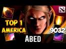 Abed TOP 1 AMERICAS Invoker Dota 2