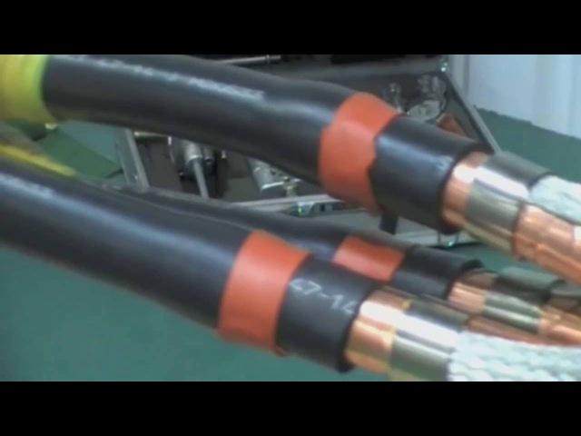 Соединение кабеля большого сечения