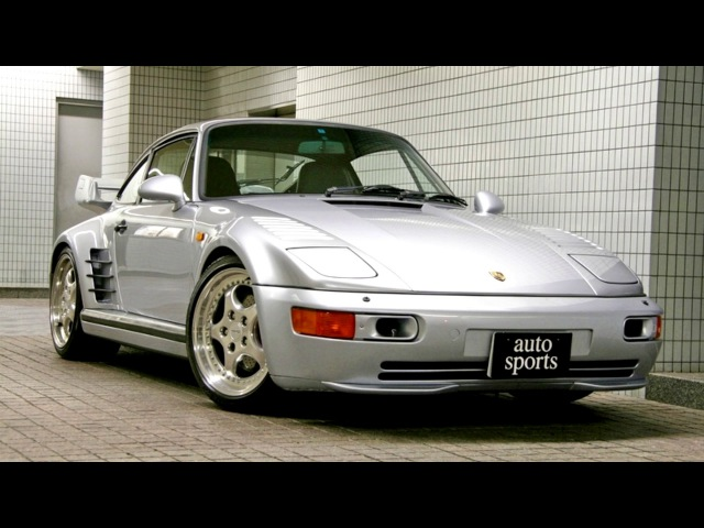 Porsche 911 Turbo S 3 6 Flachbau Coupe X83 JP spec 964 11 1993 01 1994