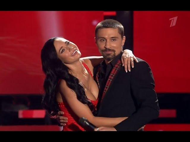 Дима Билан и ведущая Короли фанеры Яна Кошкина Я просто люблю тебя Голос от 29 09 2017