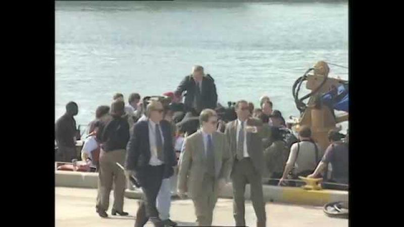 Выступление Президента США Билла Клинтона перед сотрудниками Береговой охраны США. 11 декабря 1997 года.