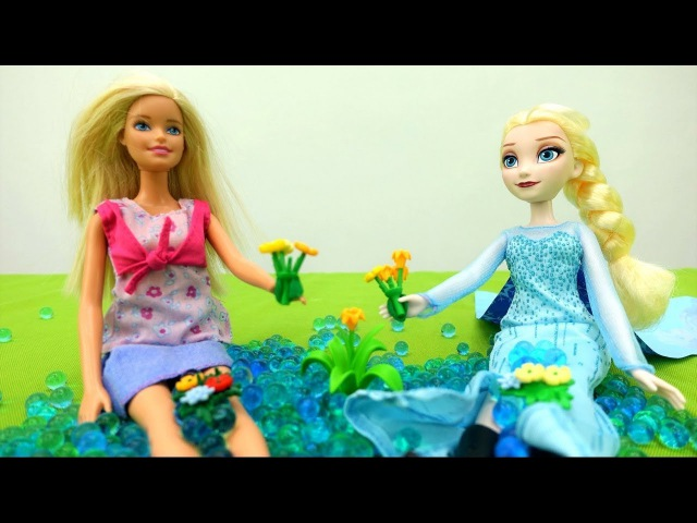 Elsa Frozen va al bosque💎 Juguetes de Frozen en español💎Vídeos de juguetes para niñas