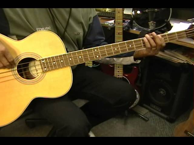 Brushy One String Watson CHICKEN IN THE CORN Guitar Or Bass One String Lesson Instruction