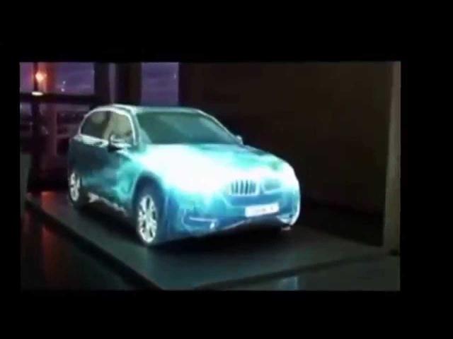 PowerMatrix Три невероятных презентации автомобилей BMWБМВ, VOLVO