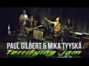 Paul Gilbert Mika Tyyskä Jamming Mr Fastfinger Mr Big Jam