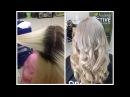 Обесцвечивание волос / Красивый БЛОНД без желтизны || Bleaching of hair - BLONDE without brassy