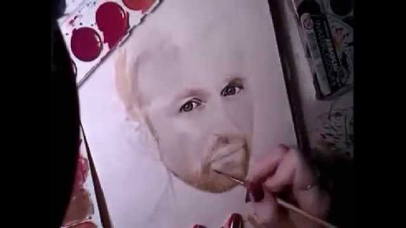 SPEED DRAW - Jay-Jay Johanson by Milena Barshatskaya