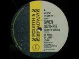 Gwen Guthrie - Seventh Heaven (Larry Levan remix)