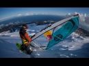 Windsurfing Down a Snowy Mountain w Levi Siver Stream Mountain