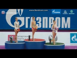 Награждение - финал (обруч)Гран При Москва 2017