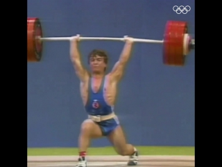 Наим Сулейманоглу - толчок 190 кг (60 кг)