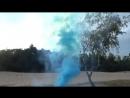 ЦВЕТНОЙ ДЫМ «SMOKE FOUNTAIN» – ГОЛУБОЙ (ПОЛЬША)