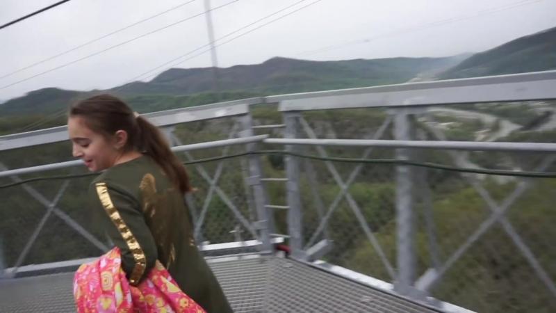 Skypark aj hackett sochi \ акрофобия , нытье на мосту