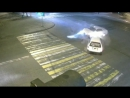 ДТП на Мира — Дзержинского. Марк-2. Комсомольск-на-Амуре, ноябрь 2017 г. Камера 1