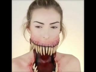 Venom ВЕНОМ 2018 Празднование Хэллоуина! маска для грим все обас*****