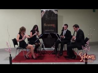 Por una Cabeza - Carlos Gardel - Cuarteto Scherzo