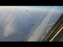 Наши лётчики гоняют истребителей НАТО -))) Очкуют пид@асы
