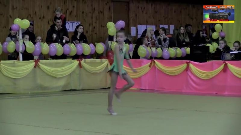 Відкрита першість з художньої гімнастики «Осінь- 2017»