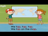 Word Families 5_ We Tap on a Map _ Level 1 _ By Little Fox