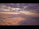 Закат - полет над облаками на высоту 5 000 метров
