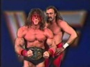 Ultimate Warrior and Jake Roberts Promo on Rude Andre 02 04 1989