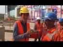 Строители Абу Даби в Астане! Казахи Индусы