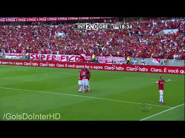 INTER 2 x 1 Grêmio - Gols - Gauchão 2015 - 03/05/2015