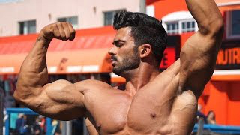 Sergi Constance VLOG 12 Cheat Day Muscle Beach workout