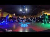 Lecha &Yarik  1x1 Breaking junior P.E shool  Hip hop day 4&4 2016
