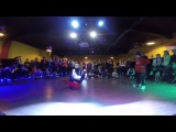 Artur & Lecha 1x1 Breaking junior P.E shool  Hip hop day 4&4 2016