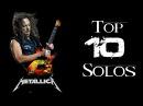 TOP 10 METALLICA GUITAR SOLOS | Kirk Hammett