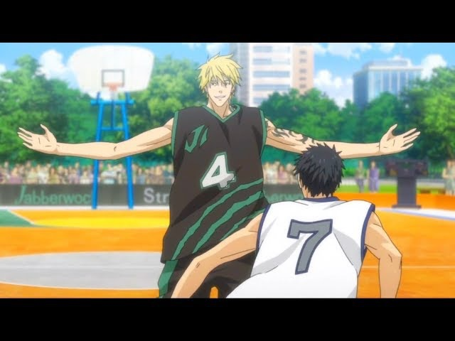 Kuroko No Basket: Last Game - Nash Gold Magic Trick on Kasamatsu (Elbow Pass)
