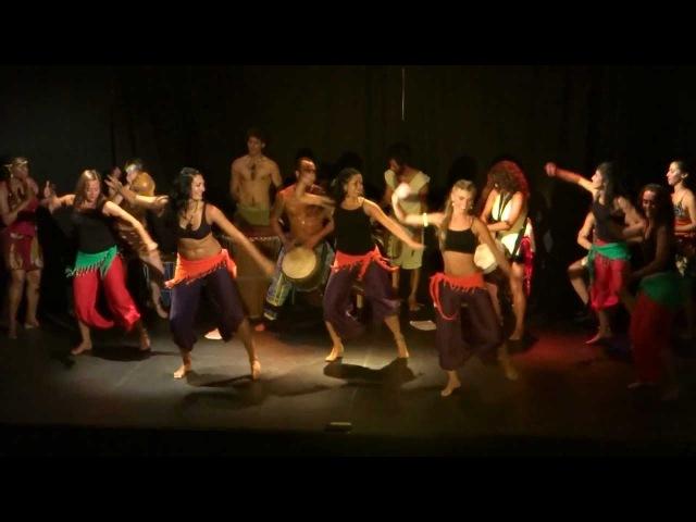 Shimbalaie Danza y percusión Africana Mar del plata YANKADI - MAKURU