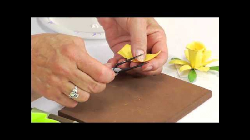 How to Use Sizzix Thinlits Daffodil Flower Die 658414