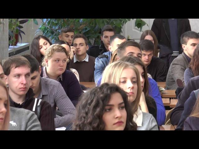 Petro Mohyla TV: Зустріч заступника Міністра юстиції Сергія Пєтухова зі студентами ЧНУ