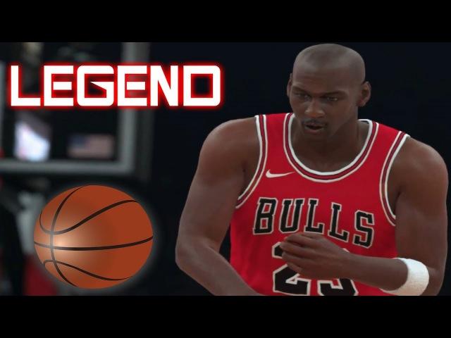 NBA 2K18 - Chicago All Time Bulls VS Phoenix Suns Gameplay [1080P 60FPS] LEGEND