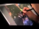 Jonny Duddle illustrating Harry Potter from J.K. Rowlings Harry Potter Books