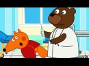 Fox Family For Kids - Injections in School - Naughty Fox - Doctor treats baby