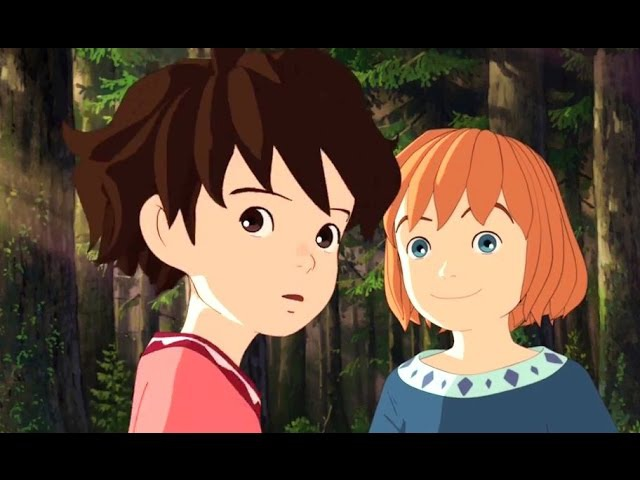 RONJA, THE ROBBER'S DAUGHTER Official Trailer (2017) Studio Ghibli Amazon Series HD