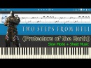 Protectors of the Earth - Two Steps From Hell [Slow Sheet Music] (Piano Tutorial)
