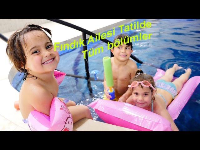 FındıkAilesi 🌊🌞TATİL yapıyor! Çocuklarla EN GÜZEL tatil seçenekleri ÇocukDizisi Türkçe TatilOyunu