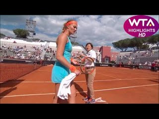 FUNNY! Mladenovic thinks she has won the game, but not yet... HIGHLIGHTS HD