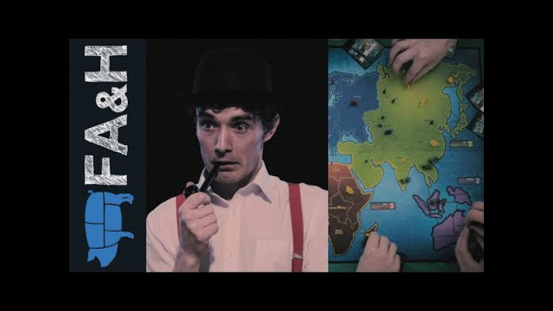An Englishman Plays Risk - Foil Arms and Hog