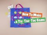 DIY How to make a Tic Tac Toe Game - Kids crafts