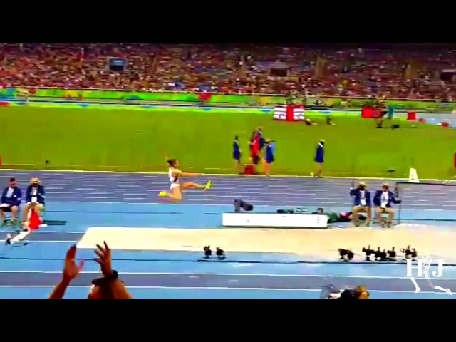 Ivana Spanovic Long Jump 7.08m Rio 2016