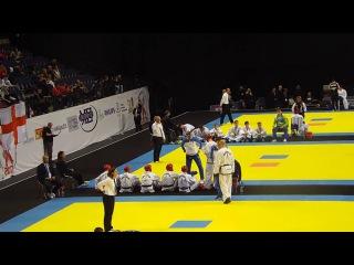 Adamiya Bagrat (UKR) v Denis Martsevich (RUS) - Male +85kg Sparring Semi Final