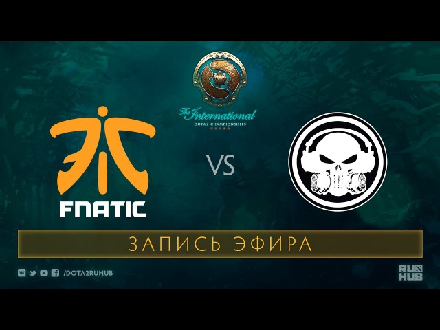 Fnatic vs Moogle, SEA Qualifications - The International 2017
