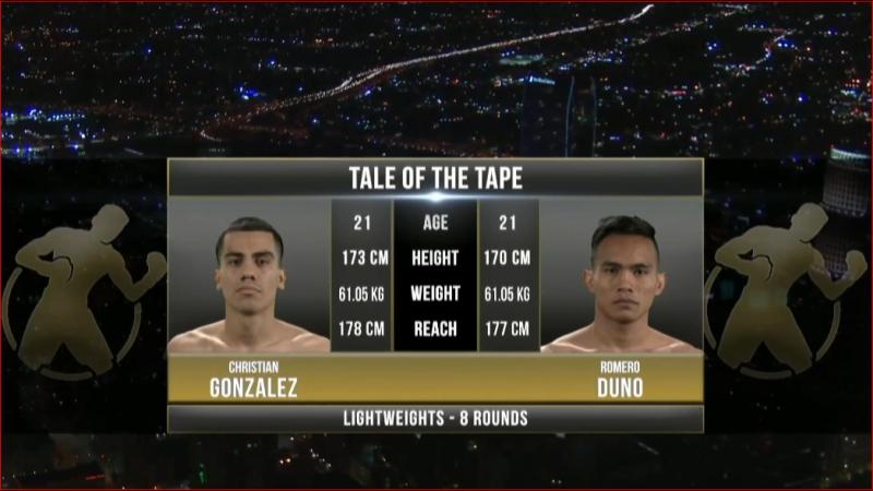 Christian GONZALEZ vs. Romero DUNO - 3⁄10⁄2017