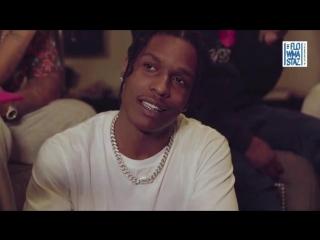 GQ Style интервью с A$AP Rocky русский язык (Flowmastaz)
